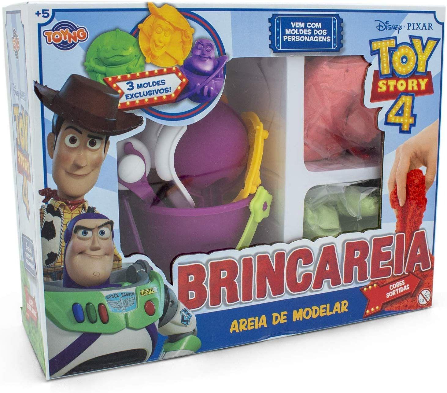 Conjunto Areia de Modelar - Toy Story 4 - Toyng