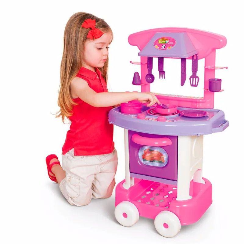 Conjunto de Cozinha Infantil Play Time - Cotiplás
