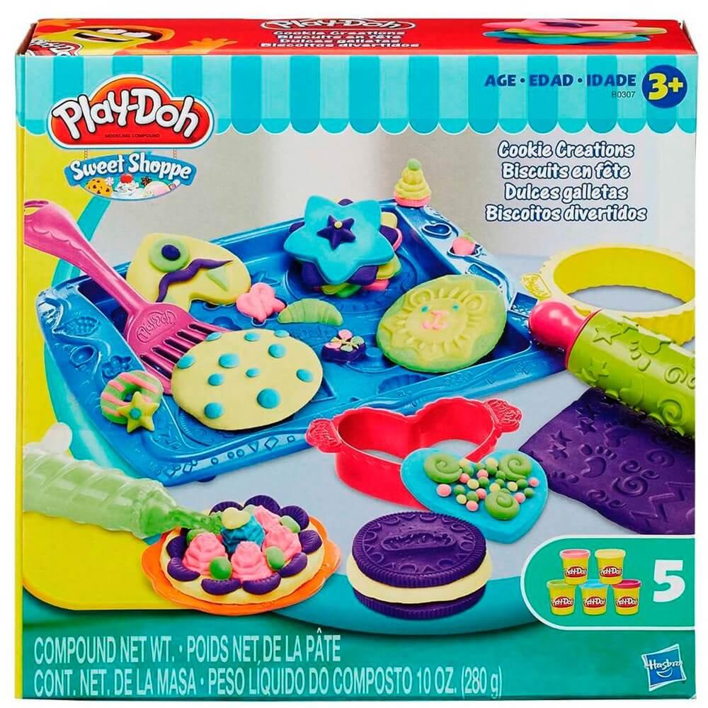 Conjunto de Massinhas - Play-Doh - Biscoitos Divertidos - Hasbro