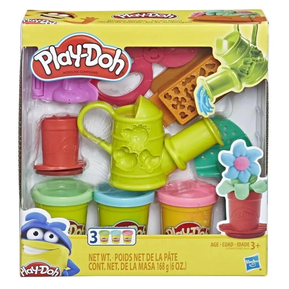 Conjunto de Massinhas - Play-Doh - Kit de Jardinagem - Hasbro