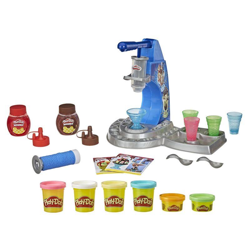 Massinhas Play-Doh - Kitchen Creation - Máquina de Sorvete - Hasbro
