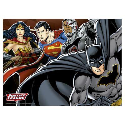 Quebra-Cabeça - Liga da Justiça - DC Comics - 100 Peças - Grow