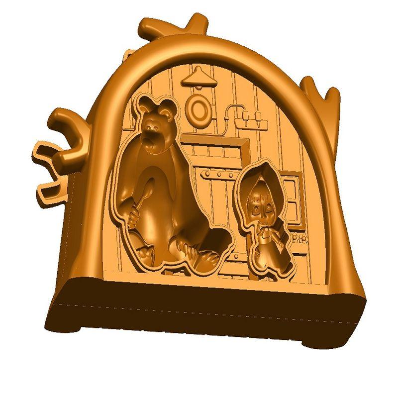 Boneca de Vinil - Conjunto Masha - Masha e o Urso - Estrela