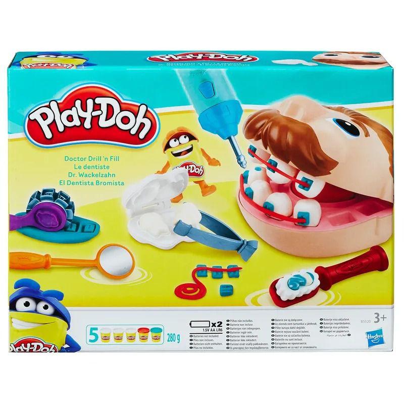Conjunto Massa de Modelar - Play-Doh - Dentista - Hasbro
