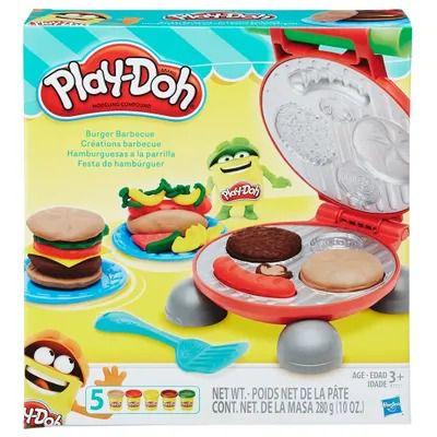 Conjunto Massa de Modelar - Play-Doh - Festa do Hambúrger - Hasbro