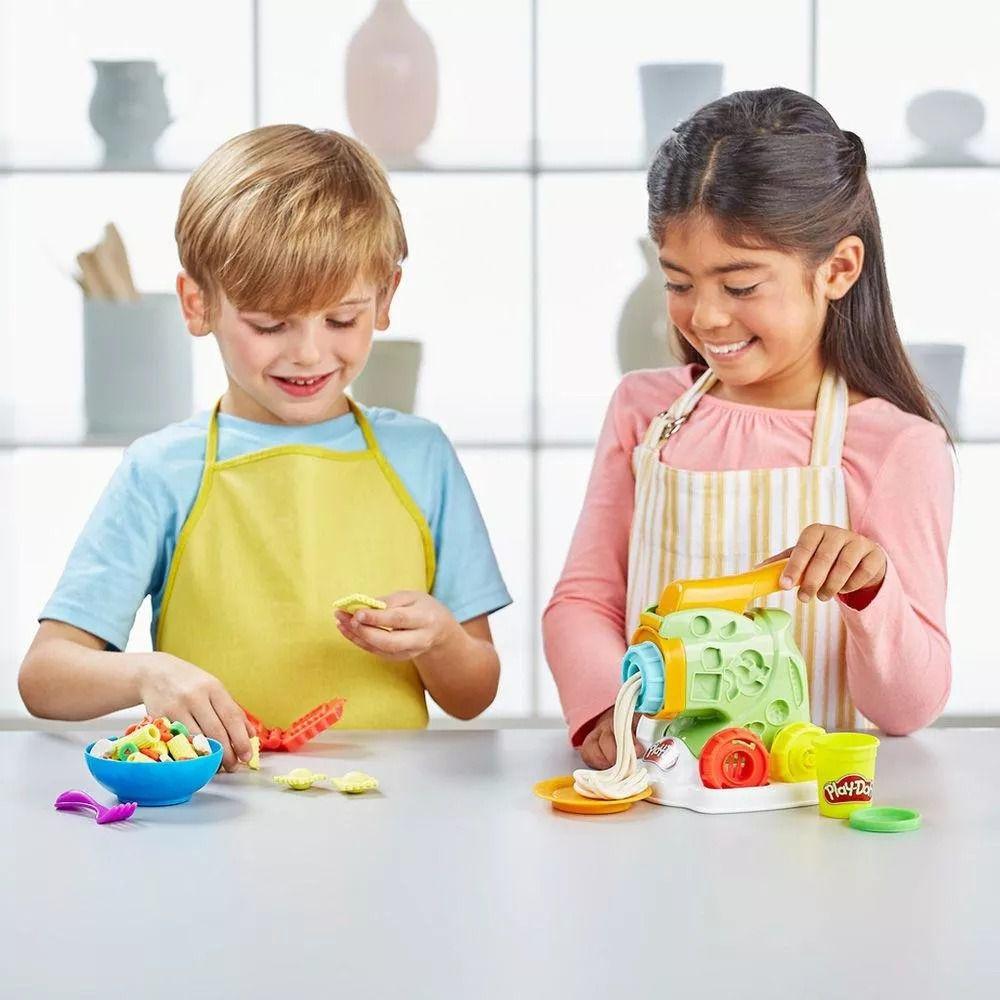 Conjunto Play-Doh Fábrica de Macarrão - Hasbro