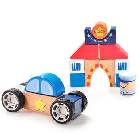 Construindo com Bloquinhos Departamento de Polícia Estrela Baby - Estrela
