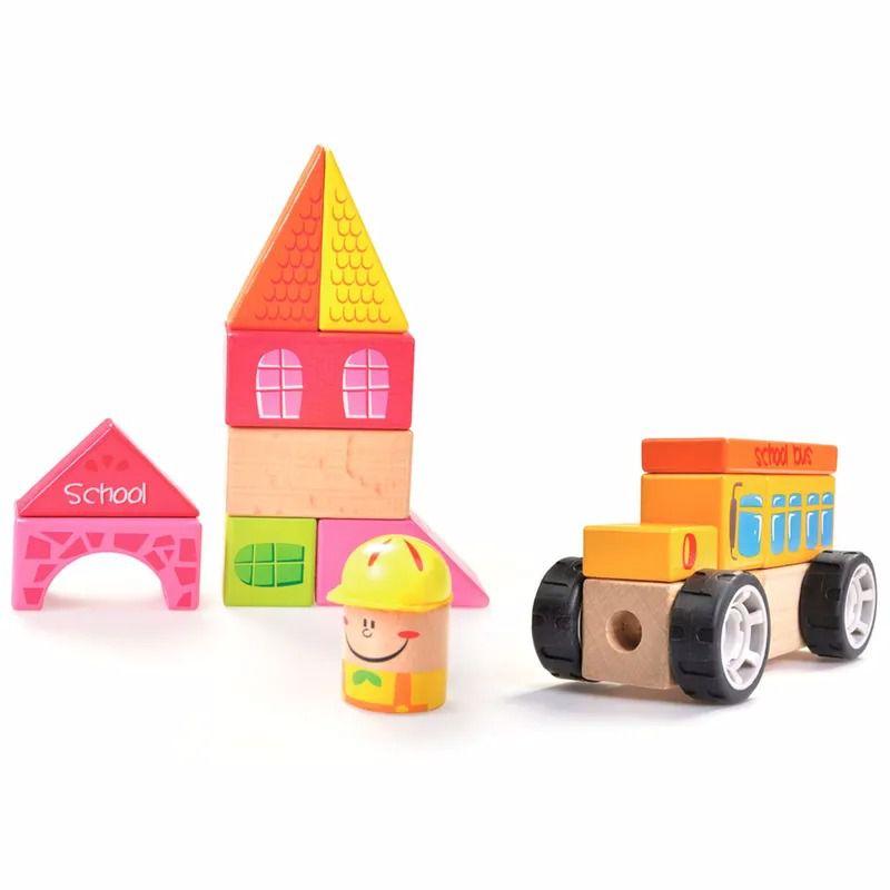 Construindo com Bloquinhos Escolinha Estrela Baby - Estrela