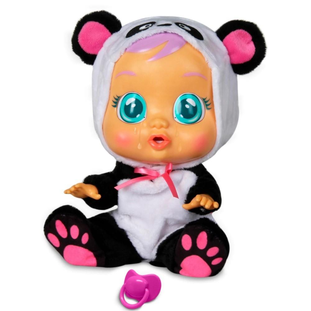Boneca Cry Babies - Sons e Lágrimas de Verdade - Pandy  - Multikids