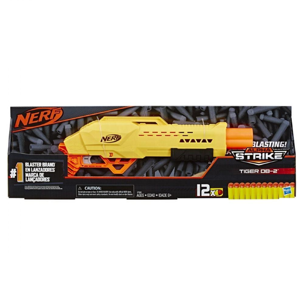 Nerf Lançador de Dardos Alpha Strike Tiger - Hasbro