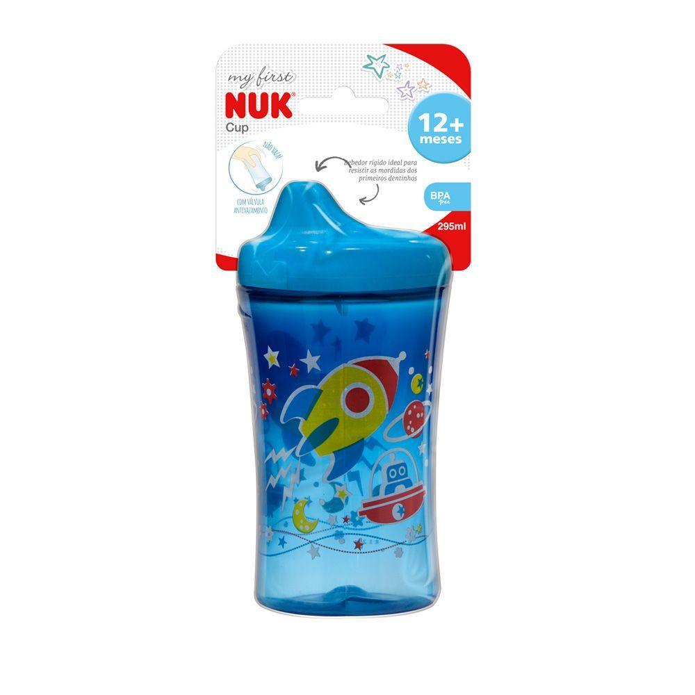 Copo Antivazamento - 295 ml - My First Cup - Azul - (+ 12 meses) - Nuk
