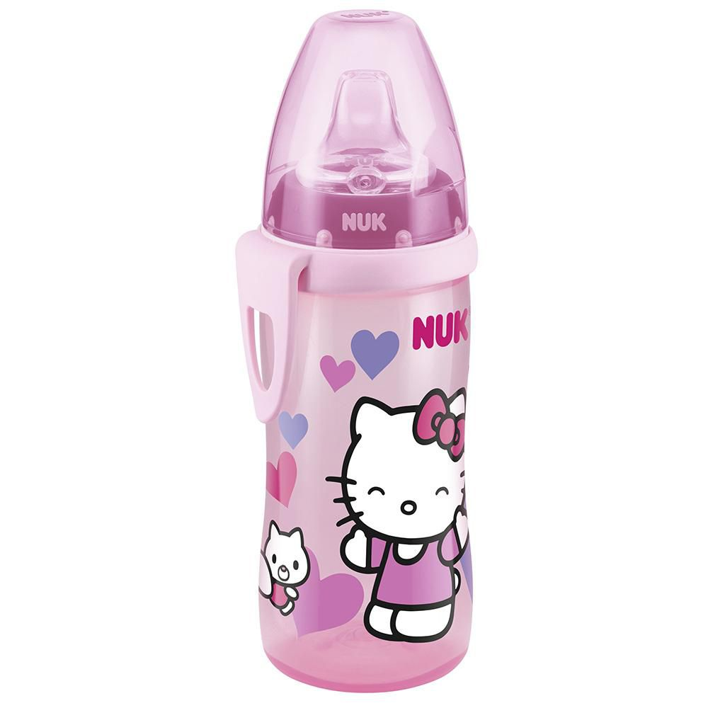 Copo De Treinamento - 300ml - Active Cup - Hello Kitty - Rosa - Nuk