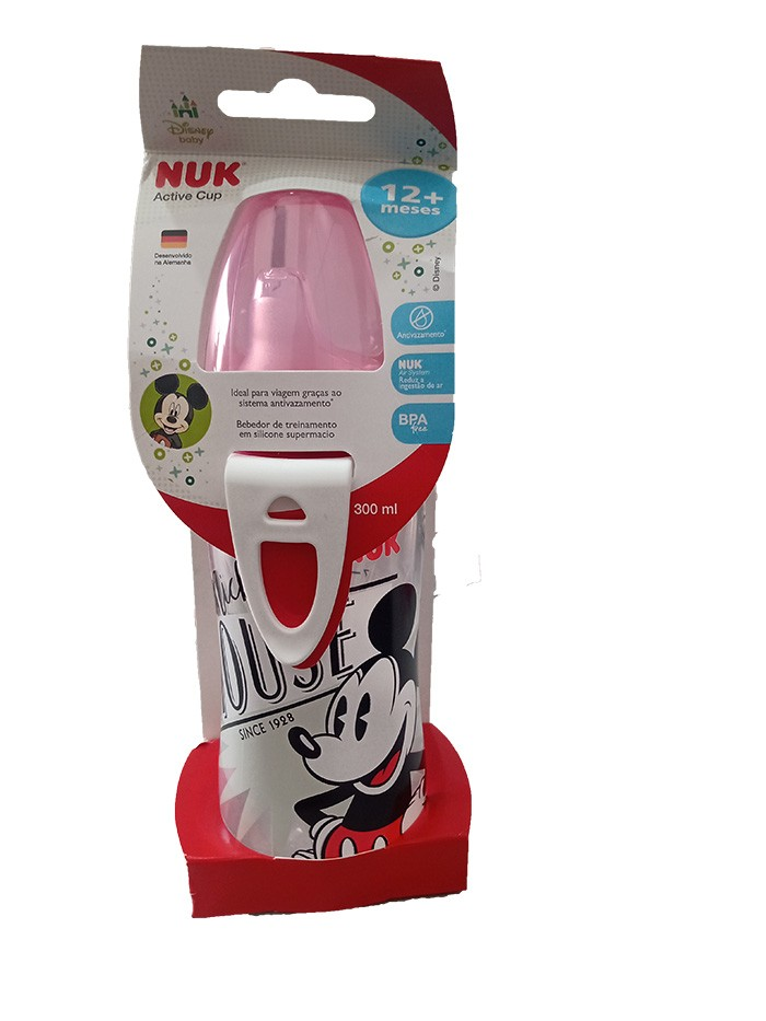 Copo de Treinamento - 300ml - Active Cup - Mickey Mouse - Nuk