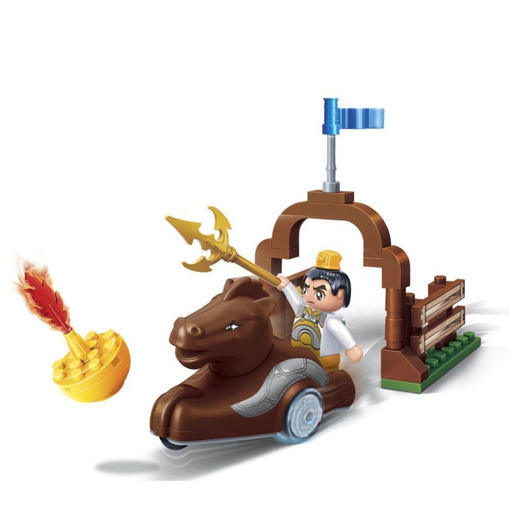 Blocos de Montar - Dinastia Tang Carruagem Cavalo - 52 Peças - Banbao