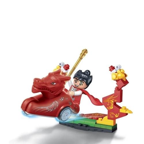 Blocos de Montar - Dinastia Tang Carruagem Dragão - 61 peças - Banbao