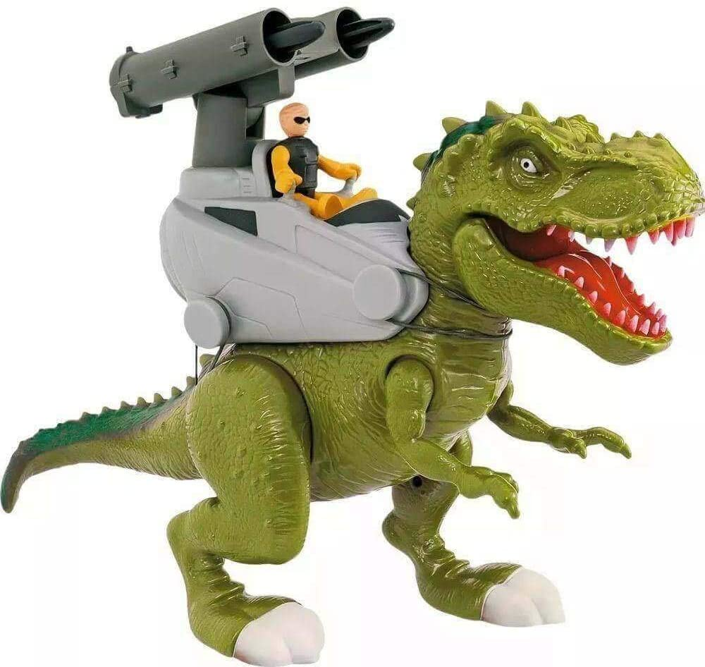 Dinossauro - Rex Attack - Lança Míssil - Adijomar