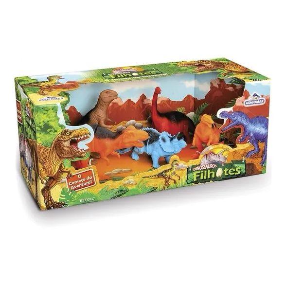 Dinossauros Filhotes - 5 Filhotes - Adijomar