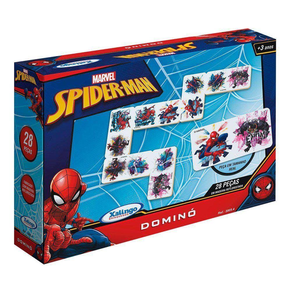 Dominó - Homem Aranha - Xalingo