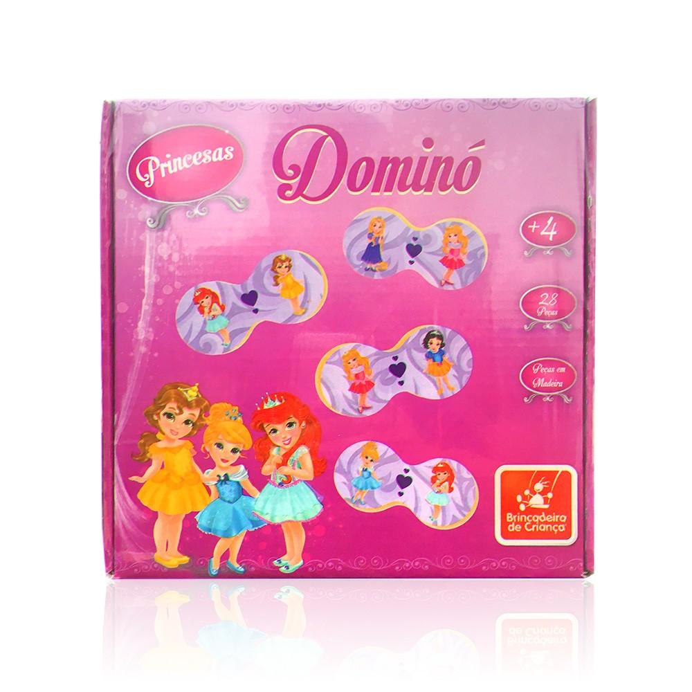 Dominó - Princesas Baby - Brincadeira de Criança