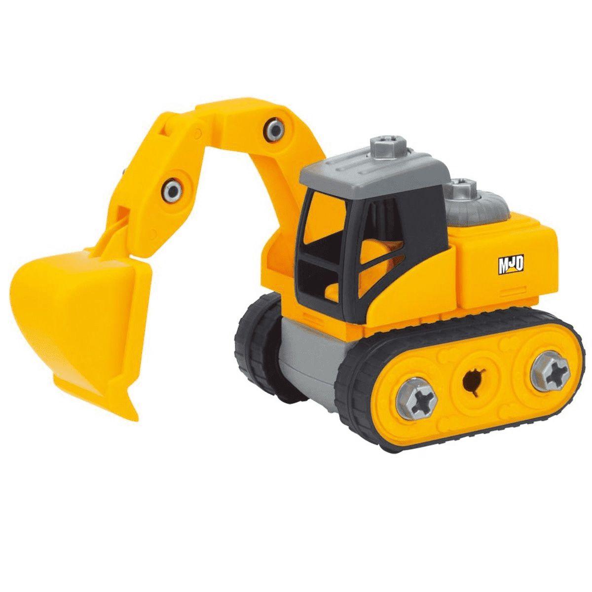 Escavadeira - Construção Delux - Zoop Toys