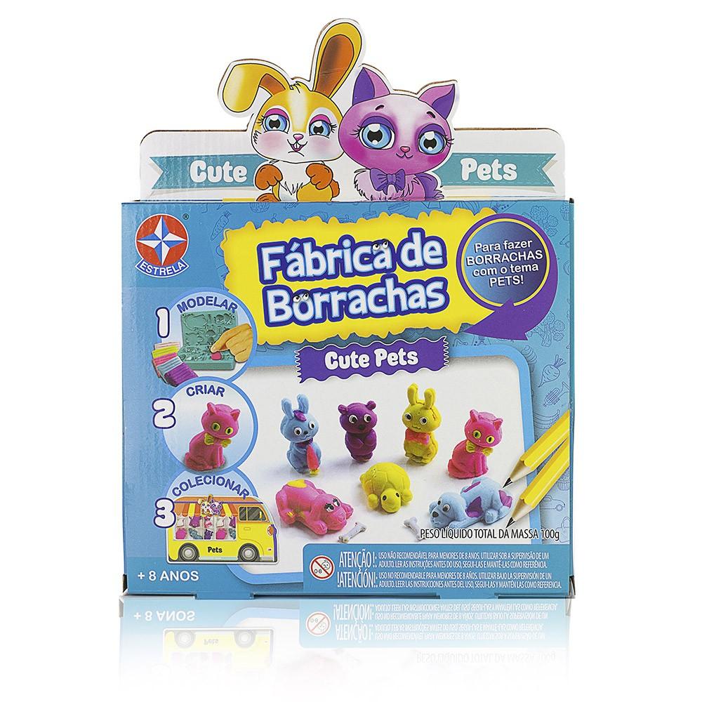 Fábrica de Borrachas - Cute Pets - Estrela