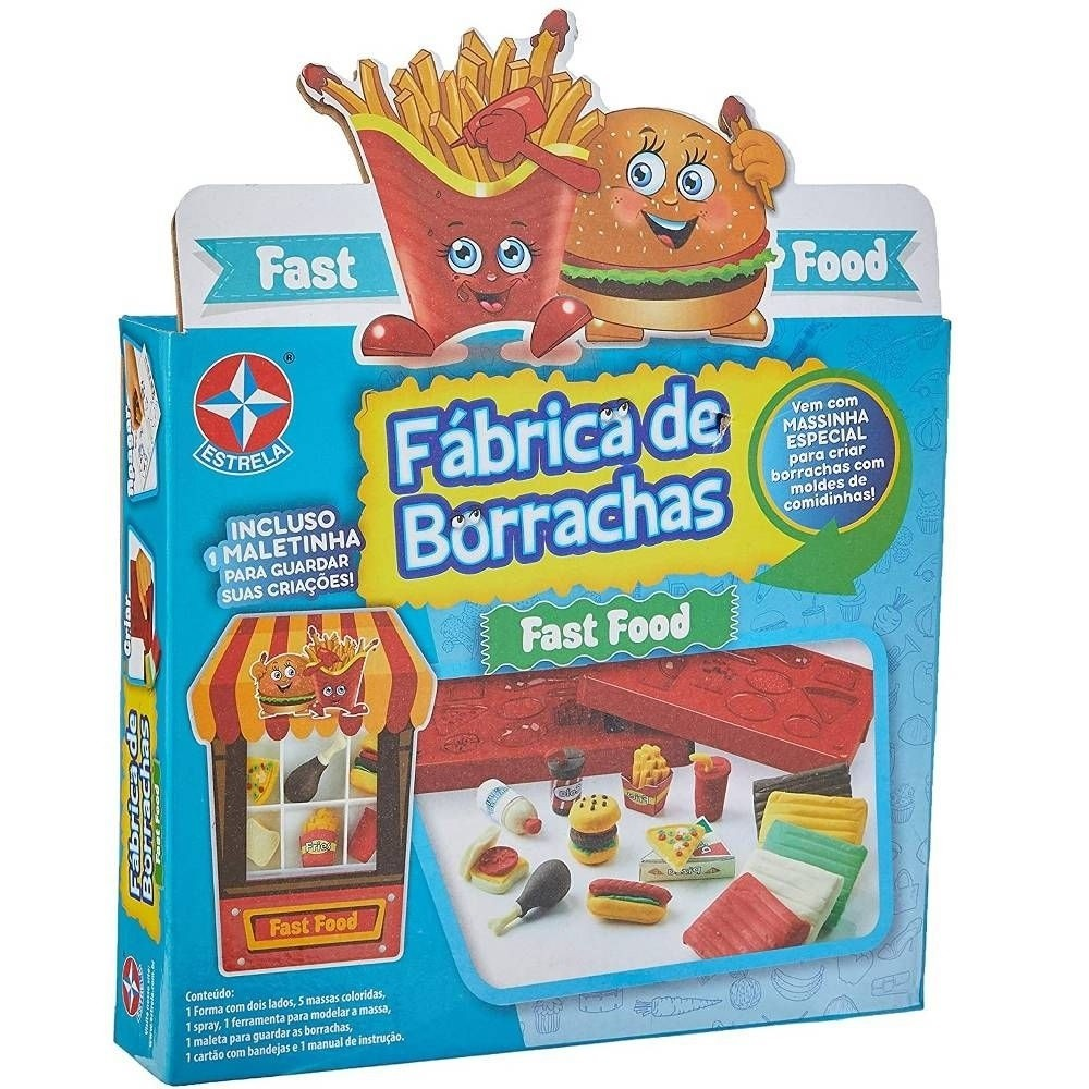 Fábrica de Borrachas - Fast Food  - Estrela