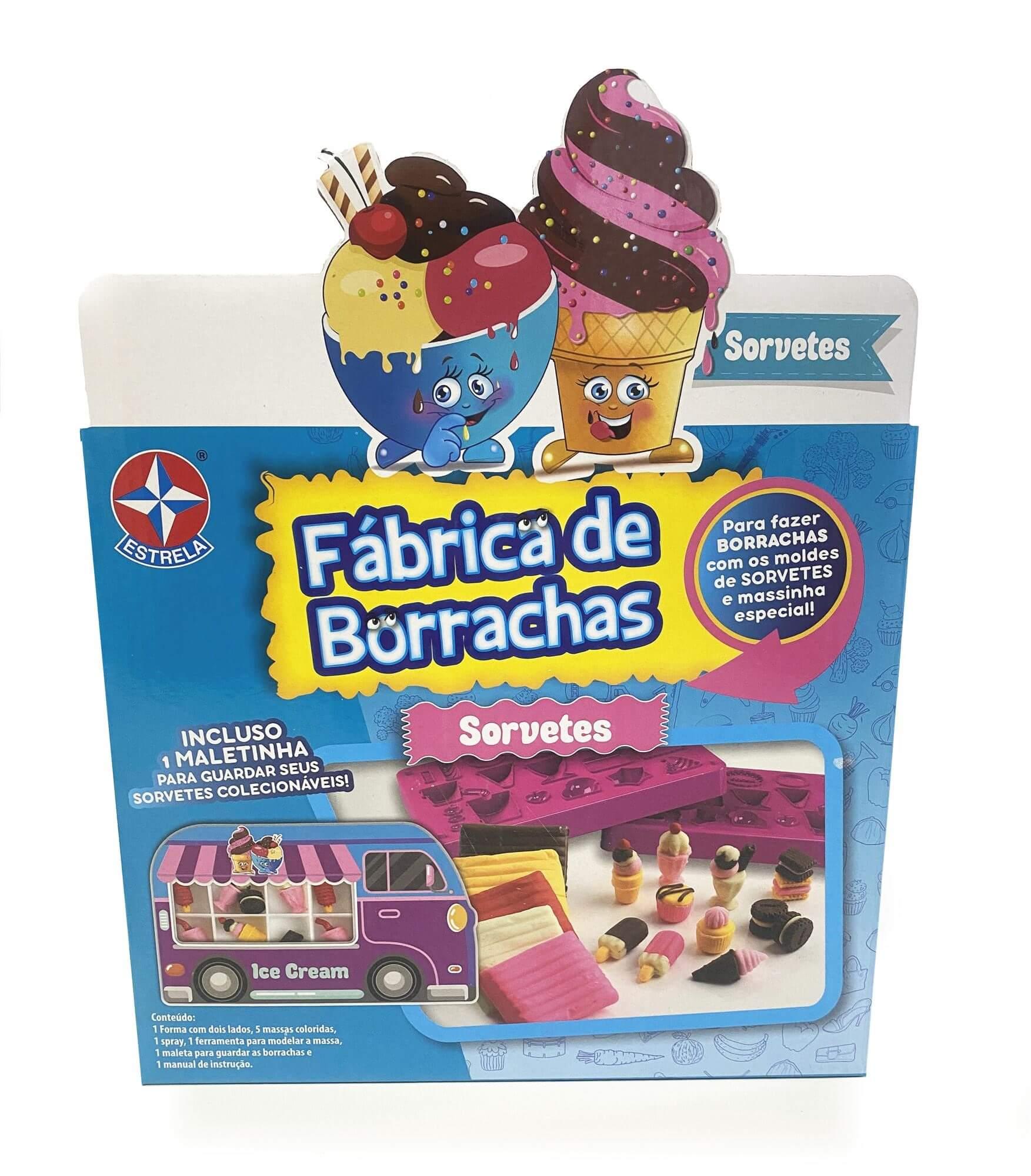 Fábrica de Borrachas - Sorvete - Estrela
