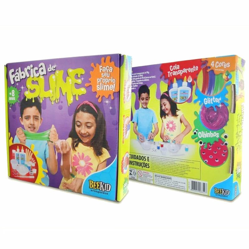 Fábrica de Slime - Bee Kid