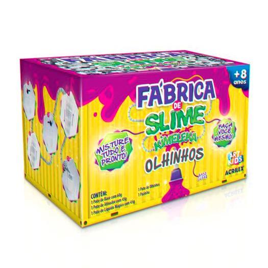 Fábrica de Slime - Kimeleka - Olhinhos - Acrilex