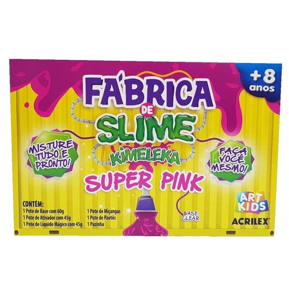 Fábrica de Slime - Kimeleka - Super Pink - Acrilex
