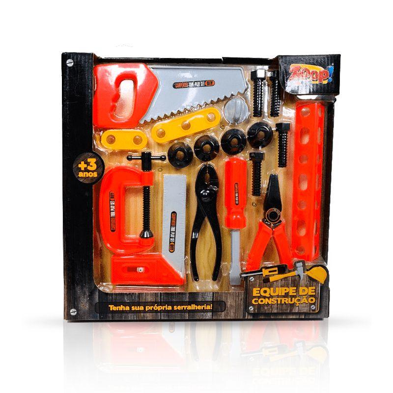 Ferramentas de Carpinteiro - Equipe de Construção - Zoop Toys