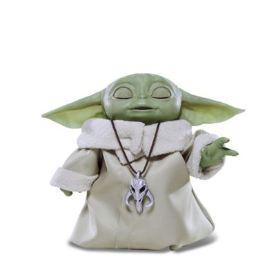 Figura Eletrônica - Disney - Star Wars - The Mandalorian - Baby Yoda com Sons e Movimentos - Hasbro