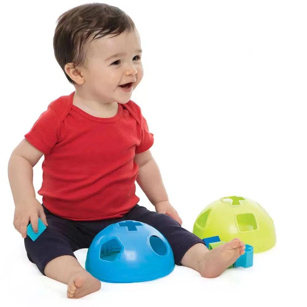 Figuras de Encaixe - Formas na Bola - Estrela Baby