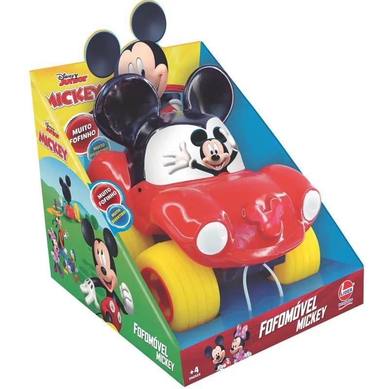 Fofomóvel - Mickey Mouse - Líder Brinquedos