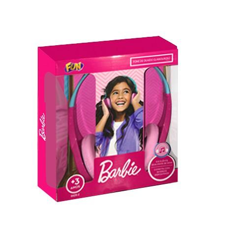 Fone de Ouvido - Glamuroso - Barbie - Fun