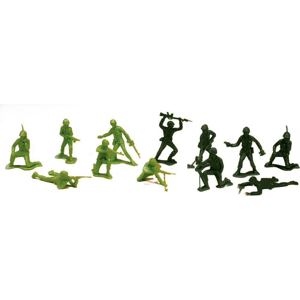 Balde com Soldados - Forças Armadas - Gulliver