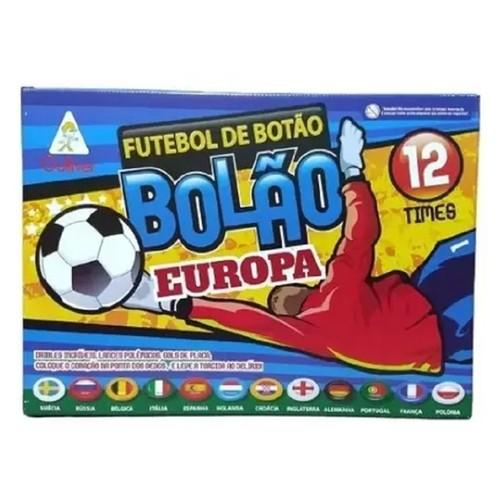 Futebol de Botão - Bolão Europa - 12 Times - Gulliver