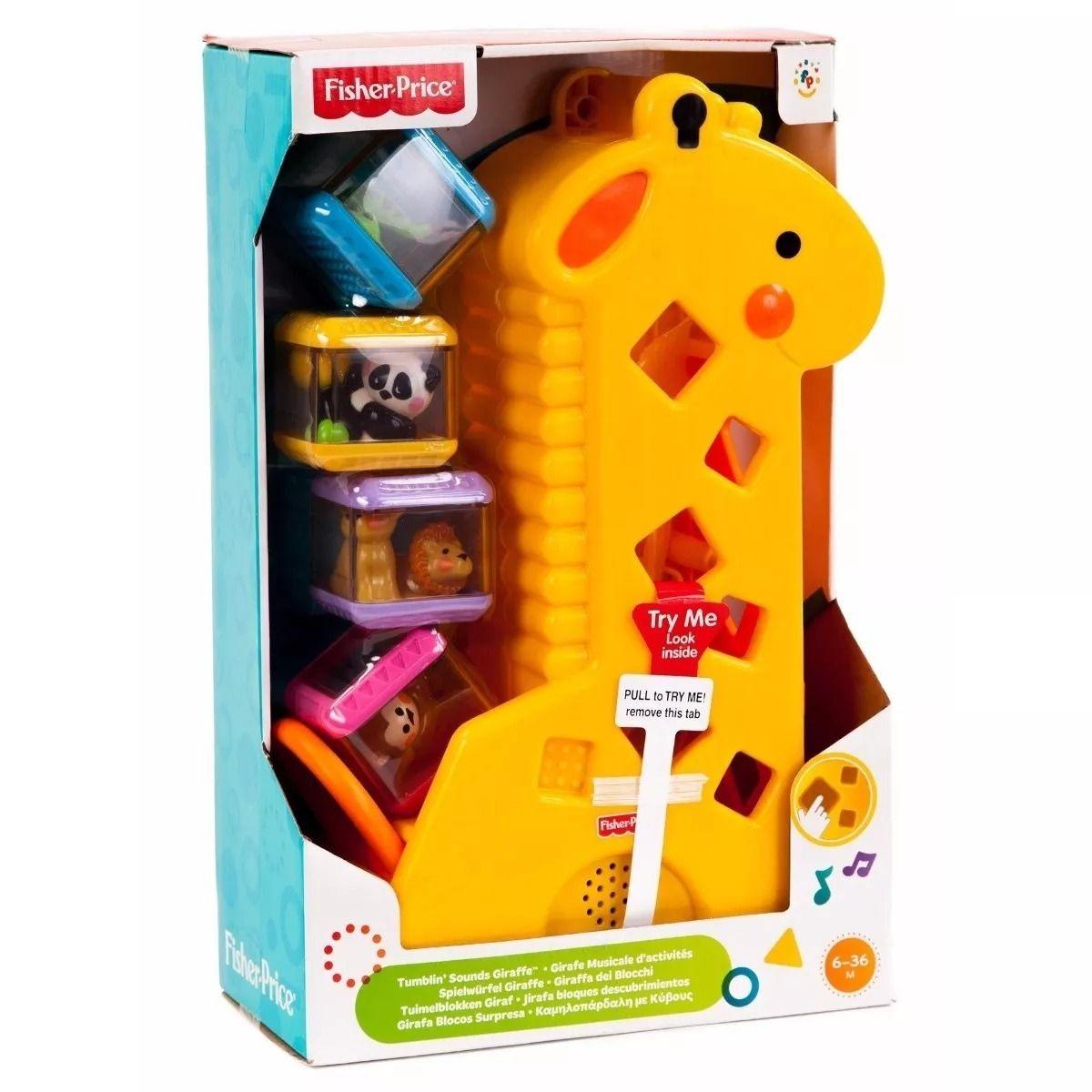Girafa Blocos Surpresa - Fisher Price