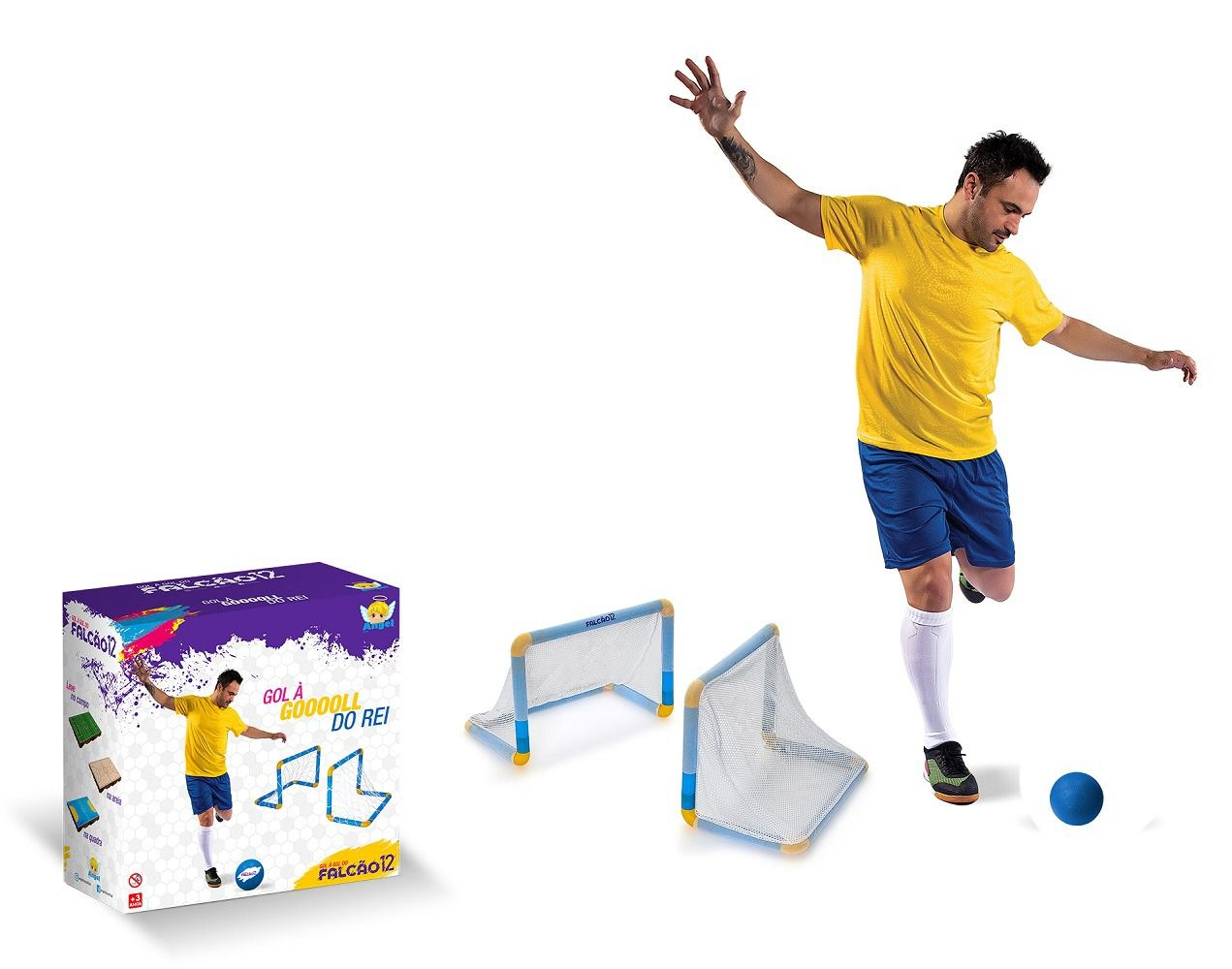 Gol à Gol do Falcão - Angel Toys