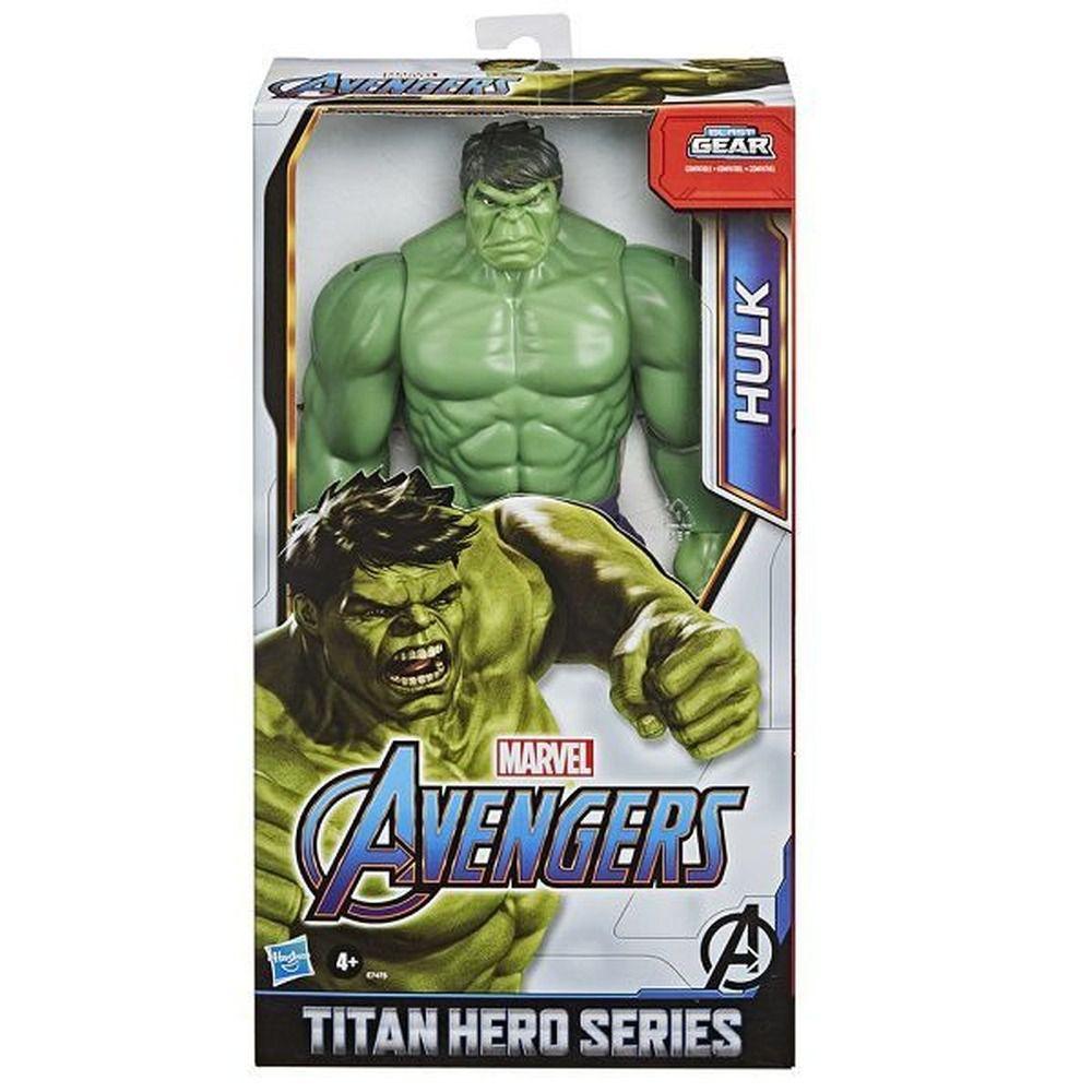 Boneco Hulk Clássico - 30 cm - Vingadores - Hasbro