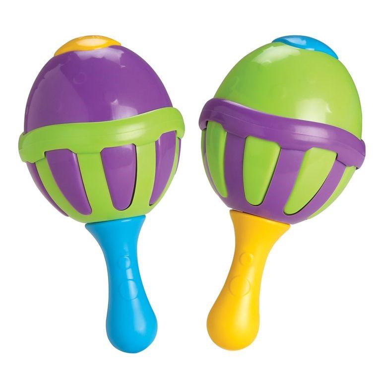 Instrumento Infantil - Maracas - Chocalho - Elka
