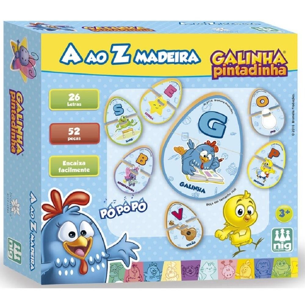 Jogo A ao Z - Galinha Pintadinha - Nig