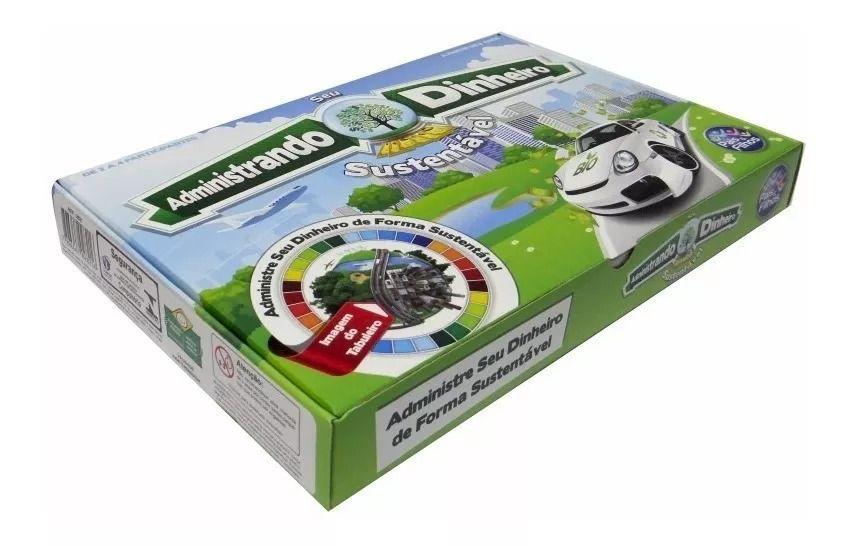 Jogo Administrando Seu Dinheiro Sustentável - Pais e Filhos