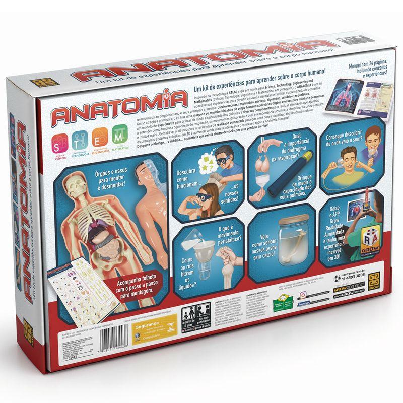 Jogo Anatomia - Kit de Experiências - Grow