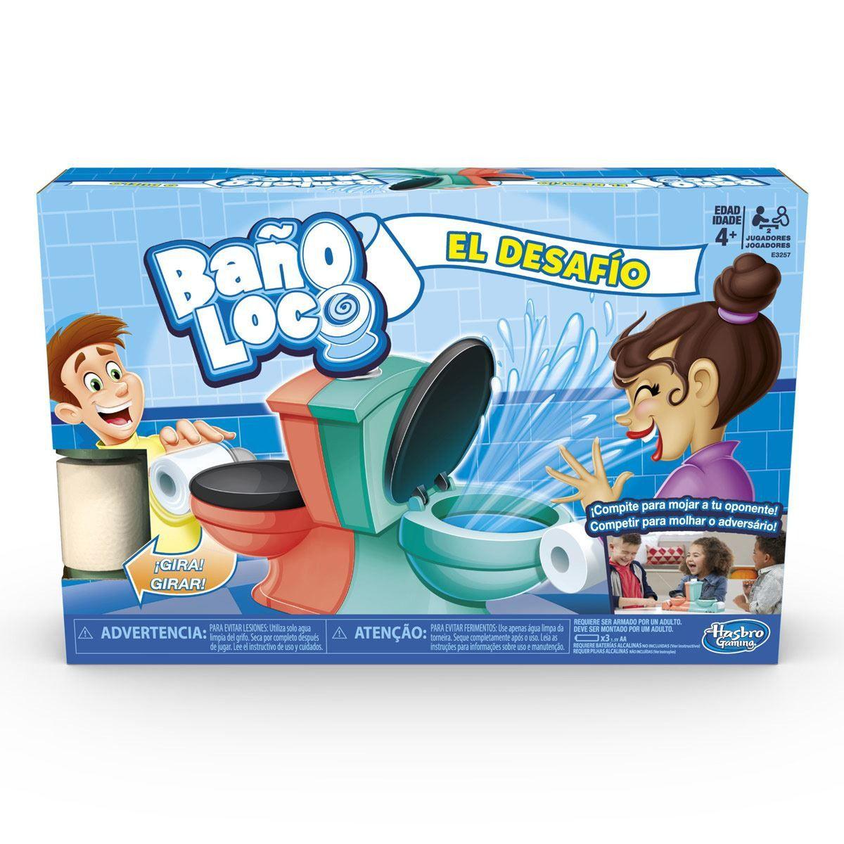 Jogo Banheiro Maluco Duplo - O Duelo - Hasbro