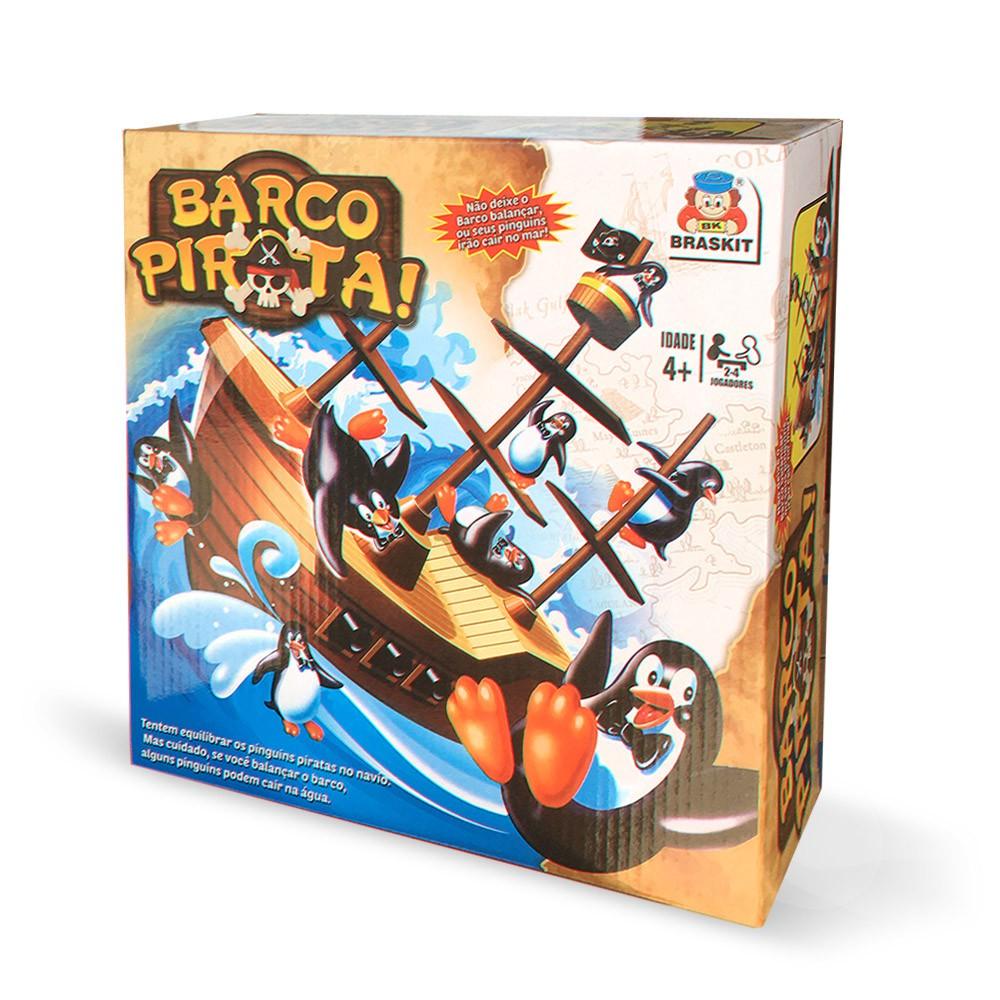 Jogo Barco Pirata - Braskit