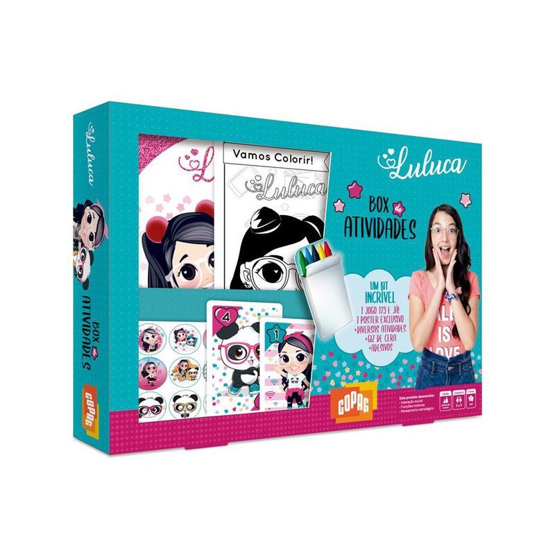 Jogo - Box de Atividades - Luluca - Copag