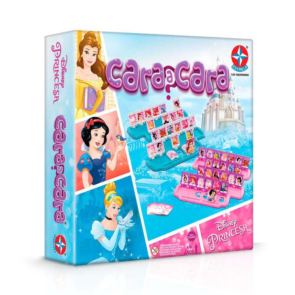 Jogo Cara a Cara Princesas - Estrela