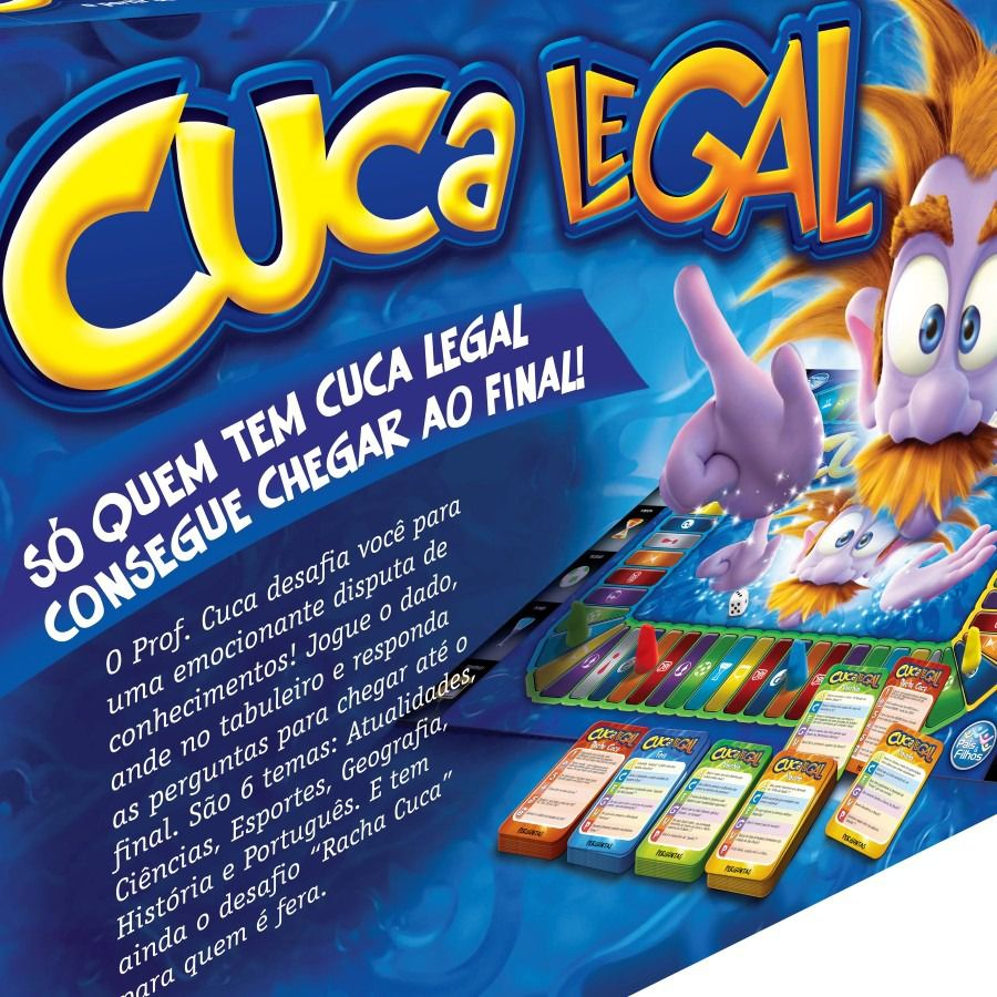 Jogo Cuca Legal - Pais e Filhos