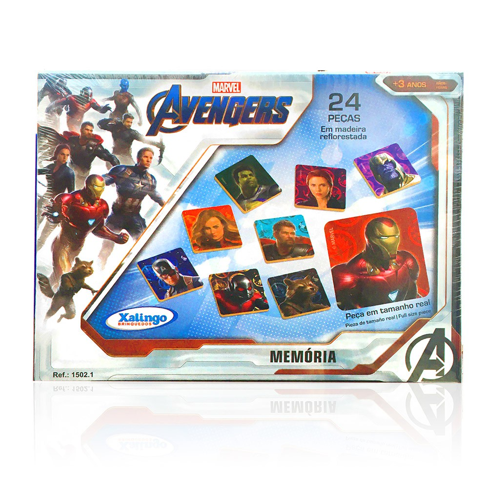 Jogo Da Memória - Avengers - Xalingo